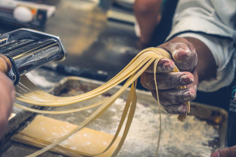 Gegratineerde pasta